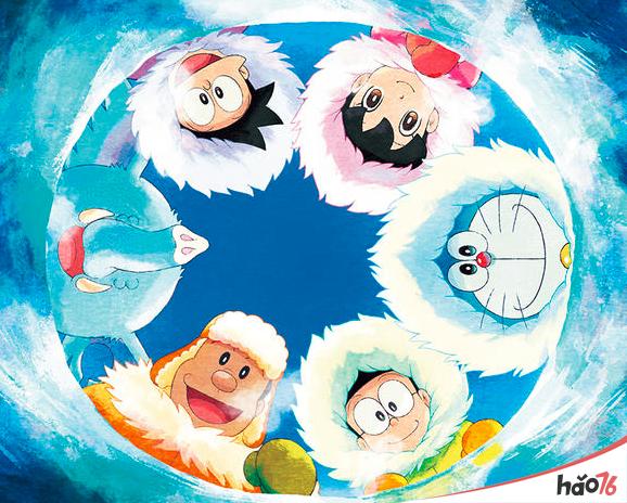 哆啦A梦 大雄的南极冰冰凉大冒险剧情预览网盘图片